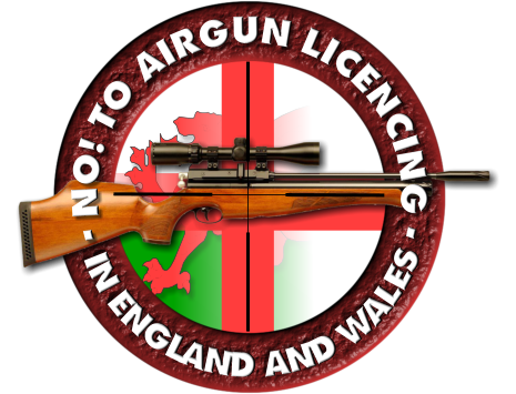 No to Airgun Licencing in England & Wales Logo