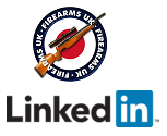 Firearms UK and LinkedIn Logos