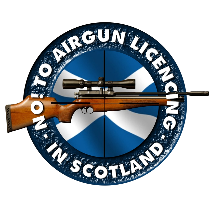 No to Airgun Licencing in Scotland Logo