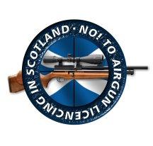 No to Airgun Licencing in Scotland Logo