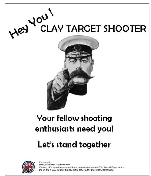 Part of a series of memes created and published by Firearms UK to encourage unity within the shooting community