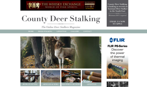 County Deer Stalking online magazine home page